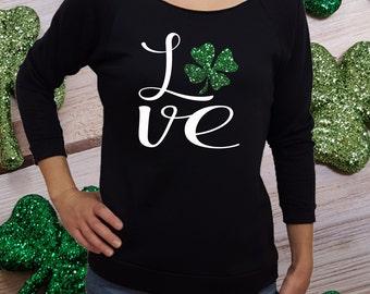 St Patricks Day shirt, women st patricks, clover shirt, st patricks shirt, green shirt, st paddys shirt, women st paddys, shamrock shirt
