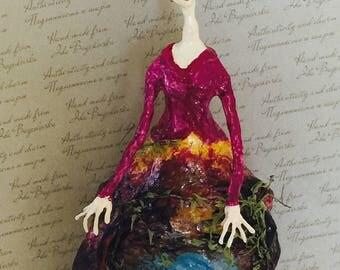 """Art doll """"Modigliani. Spring"""""""