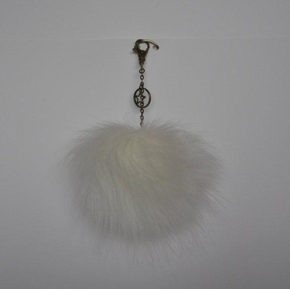 White Pom Pom Decoration