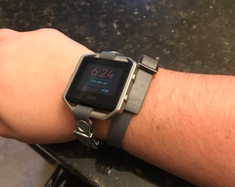 """FitBit Blaze double wrap """"to the moon and  back"""" band"""