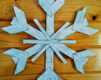 Wood Snowflake II