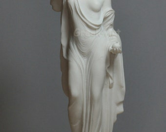 Aphrodite Venus Genetrix Greek Goddess Alabaster Statue Figure Sculpture 9.84in - 25cm  **Free Shipping & Free Tracking Number**