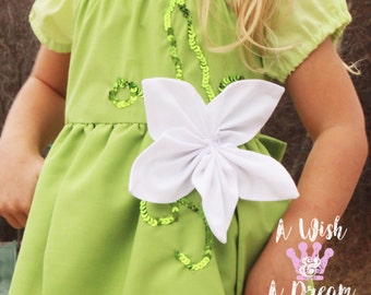 Tiana Dress/Princess Dress/Princess Costume/Tiana Costume/Girls Dress/Girls Gift/Girls Costume/Tiana/Princess and the Frog/Princess Tiana