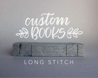 Custom | Longstitch Handbound Book