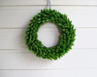 Beer Hops Wreath, Modern Christmas Wreath, Farmhouse Style, Fixer Upper Decor, Realistic Hops Wreath, Bright Green