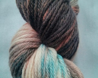 "Hand Dyed **LIMITED EDITION** ""The Roaring 40s"" in Superwash Merino Double Knitting"