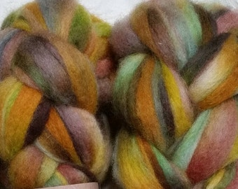 California long-wool spinners roving