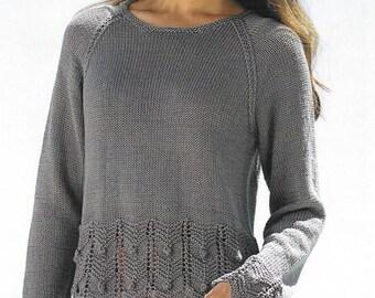 Knitting pattern. Sirdar 7824  adult 32~54 ins.