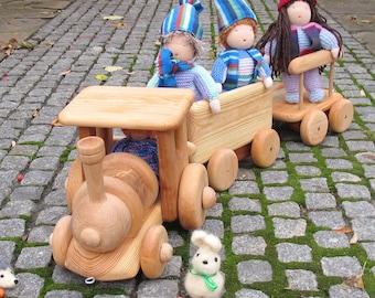 Wooden Train toy, Train toy,Train, Waldorf Toys Train,ToyTrain,Toy wooden train,Christmas gift for kids.