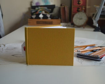 Hand bound sketchbook