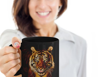 Tiger Mug  - 11oz Tiger coffee mug