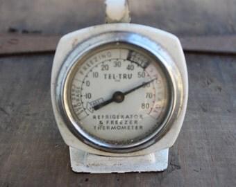 Mini Kitchen Fridge Thermometer Vintage