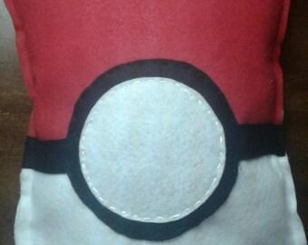Pokeball Pokemon decorative pillow plushie