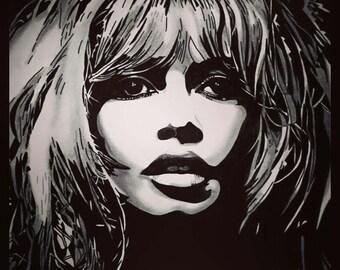 Brigitte Bardot (Original Artwork)