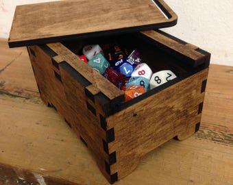 Dungeons & Dragons Dice / Jewellery / Trinket Box