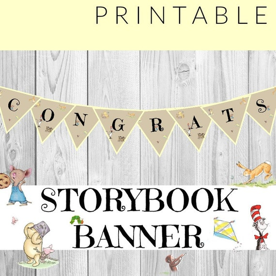 Stupendous image with congratulations banner printable
