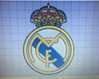 Shield Real Madrid F.C. embroidered design