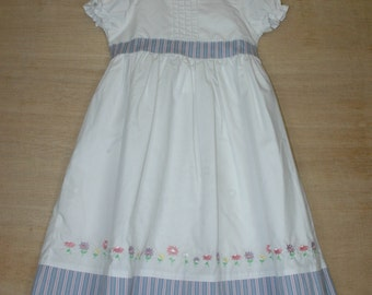 Hand Embroidered Girl's Party dress