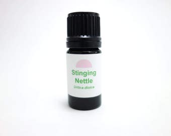 Stinging Nettle (Urtica dioica) Wildcrafted Corsican Grown steam distilled essential oil