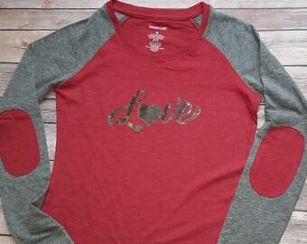 Valentine silver LOVE shirt