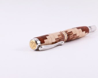 Wood Fountain Pen | Spiral Pen | Perfect Gift Idea |