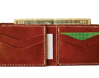Bifold Leather Wallet 2 slot (Custom)