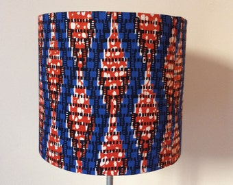 Lampshade / suspension - KINETIC WAX S 1703-04 - orange, blue and white Wax