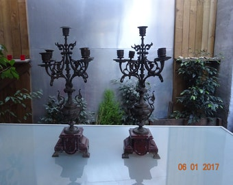 Antique chandeliers XIX Century