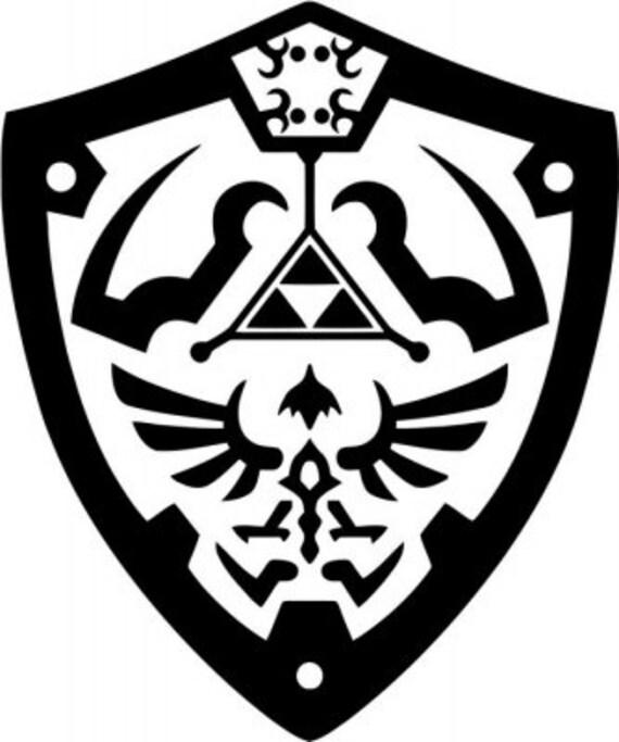 Vinyl Decal Sticker - Legend of Zelda decal inspired by Zelda for Windows, Cars, Laptops, Macbook etc
