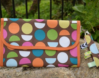 Diaper Clutch/Diaper Bag/Diaper Purse/Changing Pad/Sensory Toy/Baby Shower Gift/Minimalist/Wristlet/Pad-a-Pack - ModDot