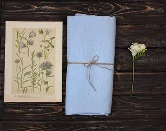 Linen Fabric, 100% Linen fabric, Pure linen fabric, Light Blue linen fabric, Linen Fabric by the yard, Wholesale Linen Fabric, Organic fabri