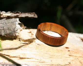 Canary Wood Ring