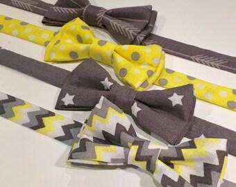 Stylish Bow Ties, Bow Ties for Boys, Handmade Fabric Bow Ties, Accessories for Boys, Toddler bow ties, baby boy bow ties, Photo Prop