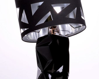 """Exclusively at amicaso! """"Geometric - Square"""" table lamp light lamp Designlamp"""