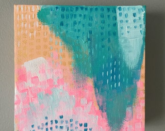 Abstract Art, Acrylic Painting, Colorful Art