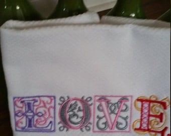 Love Kitchen Towel