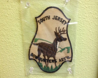 Vintage South Jersey Bowhunters Assn  New Jersey Patch