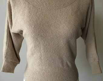 1950s Dolman Sleeve Sweater