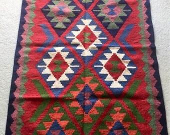 Hand made Kilim rug