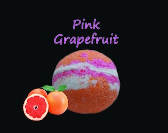FREE SHIPPING GRAPEFRUIT bathbomb, bath bomb, grapefruit, large, gift, present, favor, bathbomb, large, best smelling, grapefruit