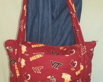 Virginia Tech Purse