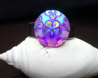 New** ''Flower Power'' Ring, Adult adjustable size