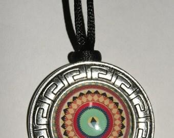 Mandala pendant Crystal