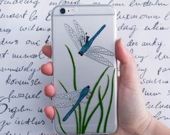 Phone case IPhone 7, 7 Plus, samsung galaxy s6, galaxy s7, IPhone 5 5s 5c, IPhone 6, IPhone 6 Plus, dragonfly phone case, girlfriend case