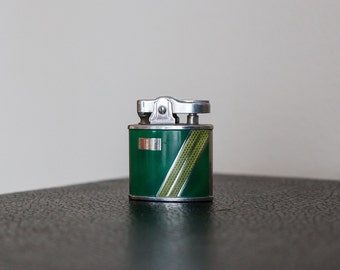 SALE! Vintage Green Wales Lighter - Perfect for Father's Day!