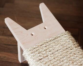 Cat Scratch / Scratching posts / Wooden Cat Scratch / Cat scratching / Gift for cat / Cats toy / Cat furniture / Cat wooden furniture /