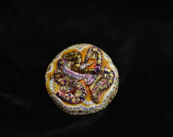 Brooch 12 (handcrafted & hand-painted)