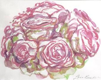 Roses Bouquet Print
