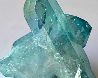 Aqua Aura Crystals on a BUDGET! Rocks and Minerals, 18g