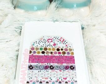 tasty sweets washi sample set